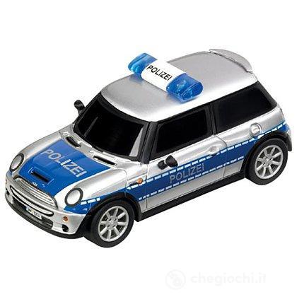 """Auto pista Carrera MINI Cooper S """"Polizei"""" (20061089)"""