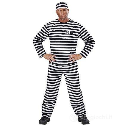 Costume Adulto carcerato S