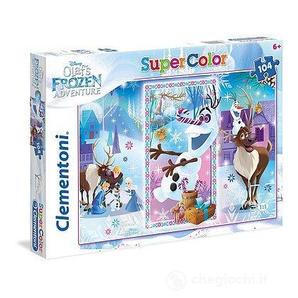 Puzzle 104 pezzi Frozen 27093