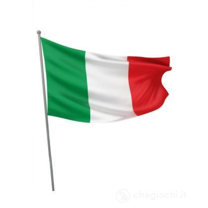 Bandiera Italia con asta  90X60 cm (22093)