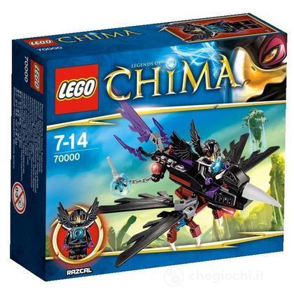 Il Corvo volante di Razcal - Lego Legends of Chima (70000)