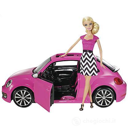 Maggiolone di Barbie (BJP37) + Barbie