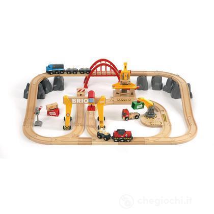 Ferrovia cargo con cassetta (33097)