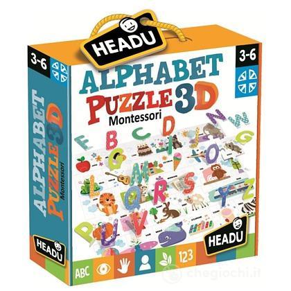 Montessori Alphabet Puzzle 3D (IT20973)