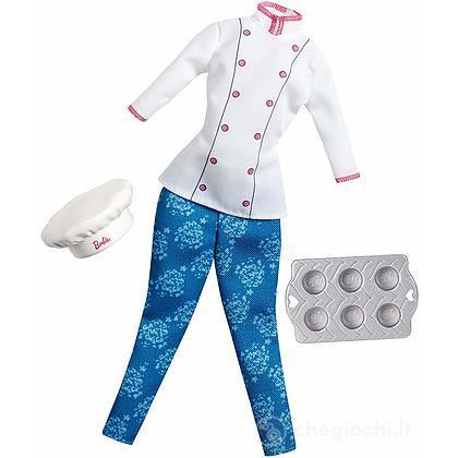 Vestito Chef Barbie I Can Be (CHJ30)