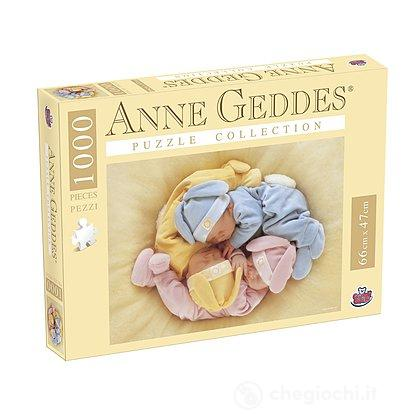 Puzzle Anna Geddes 1000 Pezzi, A Party Of 3