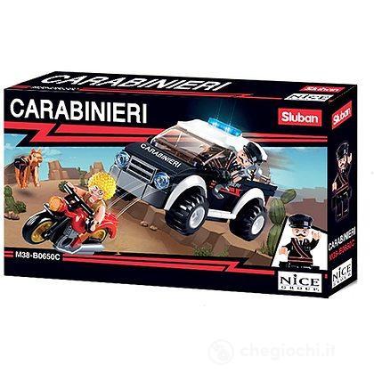 Fuoristrada Carabinieri