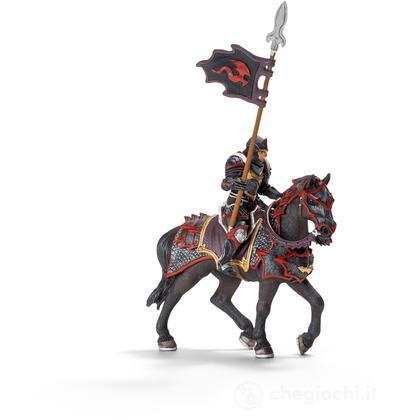 Cavaliere del drago con lancia a cavallo (70102)