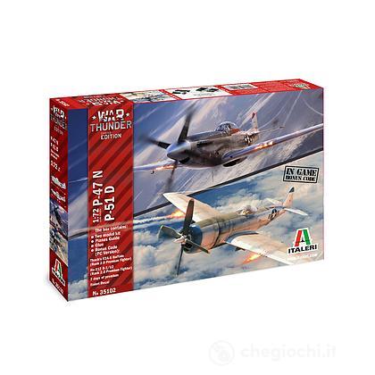 Aereo P 47 N e Aereo P 51 D - War Thunder 1:72 (IT35102)