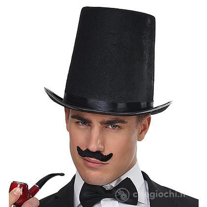 Cappello Cilindro Extra Alto in Feltro - 20 Cm
