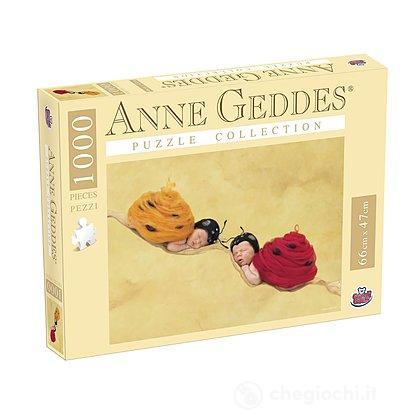 Puzzle Anna Geddes 1000 Pezzi, Ladybugs