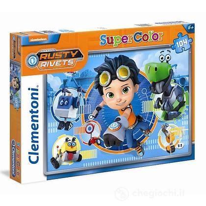 Puzzle 104 3 Rusty Rivets (27103)
