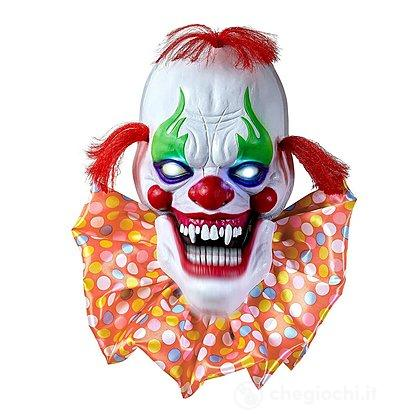 Clown spaventoso halloween decorazione luminosa e sonora