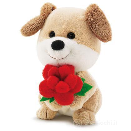 Trudino Cagnolino con fiore
