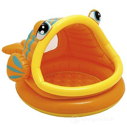 Piscina Baby pesce con parasole (57109)