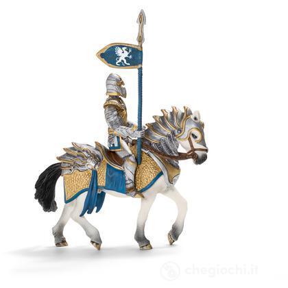 Cavaliere del grifone a cavallo con lancia (70109)