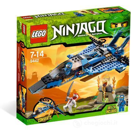 LEGO Ninjago - Il jet da combattimento di Jay (9442)