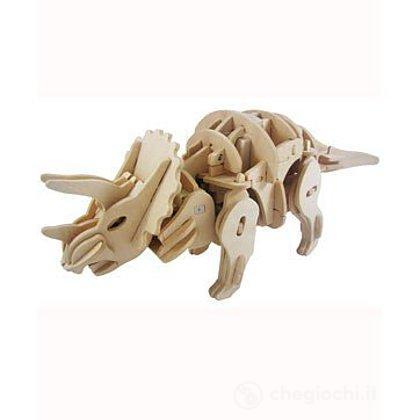 Triceratopo school collection in legno (RT9109)