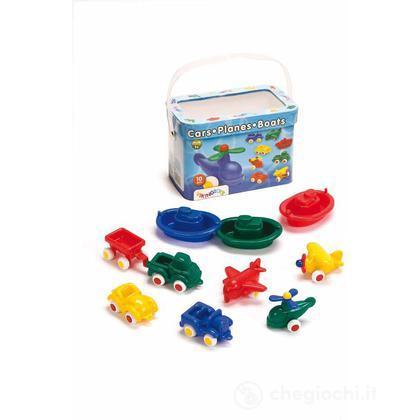 Mini chubbies buckets: set 10 pezzi - Secchiello