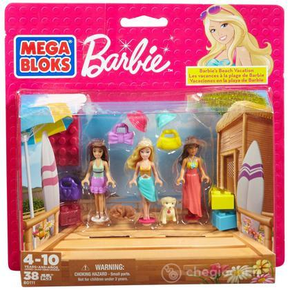 Barbie Vacanza alla spiaggia (80111V)