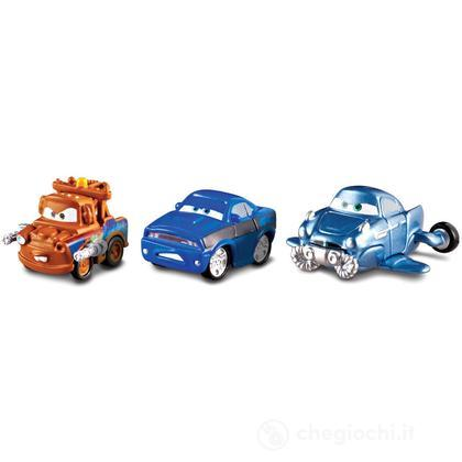 Veicoli Cars 2 micro drifters Cricchetto, Rod Redline, Finn McMissile (Y1124)
