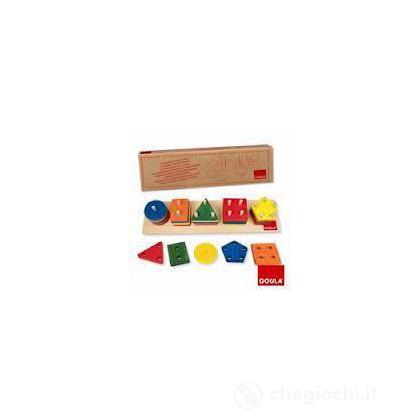 Inserti 25 Forme Colorate (51111)