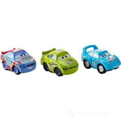 Veicoli Cars 2 micro drifters Cera Brillante, Gask, King (Y1125)