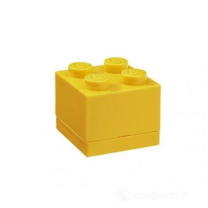 Contenitore LEGO Mini Box 4 Giallo