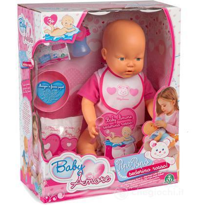 Baby Amore Rosa - Pipì Popò Sederino Rosso