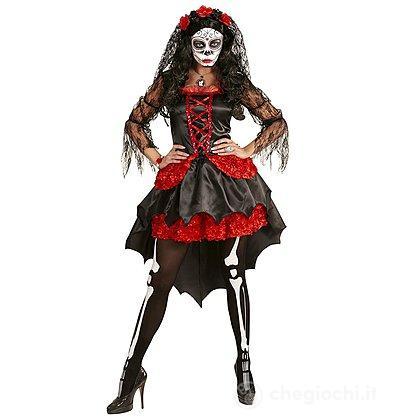 Costume Adulto Sposa Dia De Los Muertos M