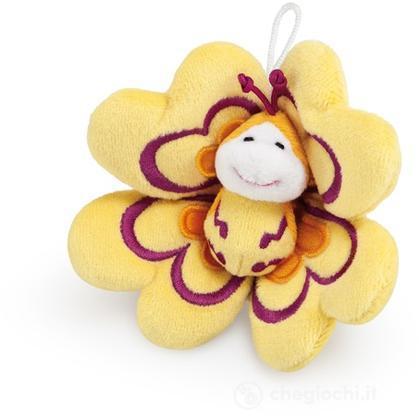Farfalla fiore gialla (52112)