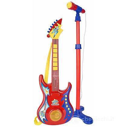 Chitarra Rock + Microfono con asta (24 7020)
