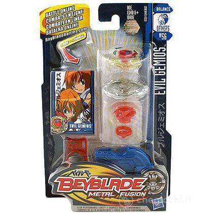 Beyblade Metal Fusion battle top super - Evil Gemios