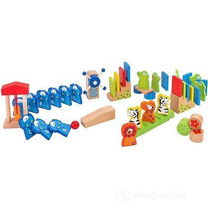 Domino In Legno Animali 120 Pezzi 38113