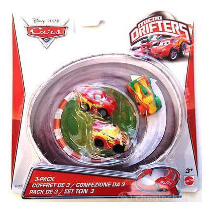 Veicoli Cars 2 micro drifters Roman, Saetta, Miguel (Y1127)
