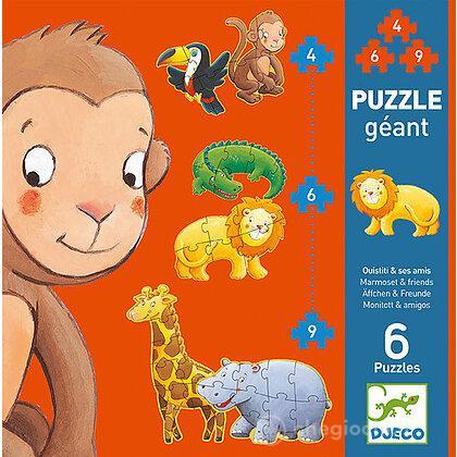 Puzzle progressivo Marmoset & friends (DJ07114)