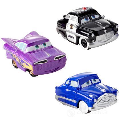 Veicoli Cars 2 micro drifters Doc, Sceriffo, Ramon (Y1128)