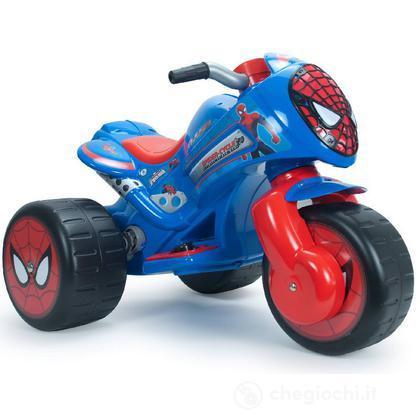 Moto motor bike 3 ruote waves spider man ccp15115 automobiline e moto elettriche giochi - Spider man moto ...