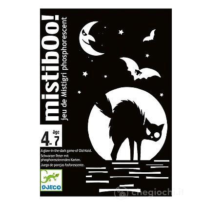 Mistibooh Gioco di carte fosforescente (DJ05116)