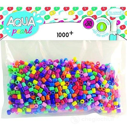 Aqua Pearl Ricarica - 4 Pezzi - Colori Misti 1000 Perline (ALD-AP116)