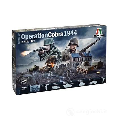 Diorama Operazione Cobra 1944. Scala 1/72 (IT6116)