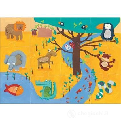 Tactile puzzle - giungla