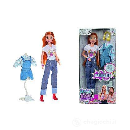 Maggie Fashion Doll cm 29 set con cambio d'abito (109273113)