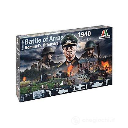 Diorama 2 Guerra Mondiale. Battaglia di Arras 1940. Rommel Offensive 1/72 (IT6118)