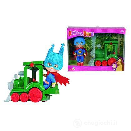 Masha supereroina con treno (109302119)