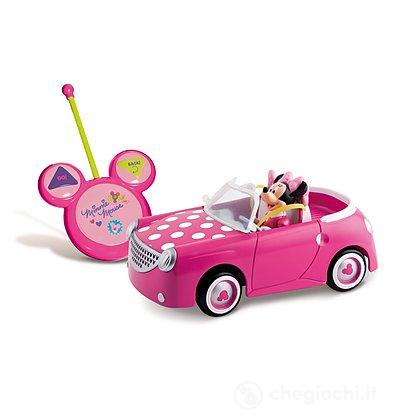 Minnie auto RC con personaggio