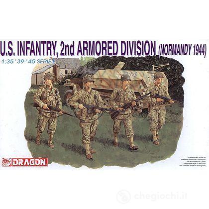 Fanteria U.S. 2nd ARM. DIV. Normandia '44 1/35 (DR6120)