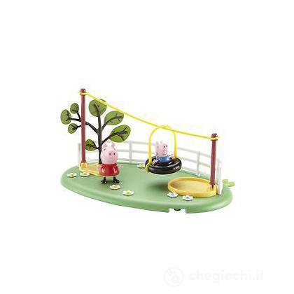 Peppa Pig Playground Playset Zip Line