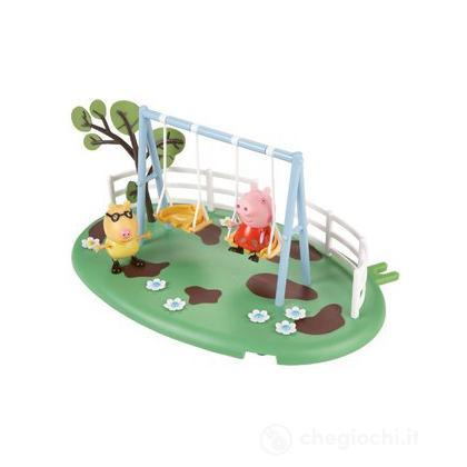 Peppa Pig Playground Playset Swing Altalena