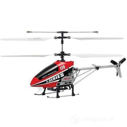 Elicottero shuttle 4 canali gyro Rosso (498718)